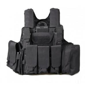 Molle vest, Black.