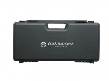 Ceska Zbrojovka (CZ) platik kuffer, (23 x 46 cm).