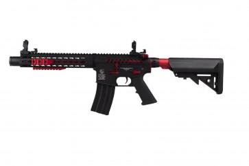Colt M4 BLAST RED Fox AEG Fuld metal – Mosfet