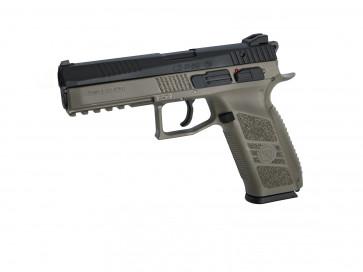 Softgun CZ P-09 Duty incl. pistolkuffert, Dualtone.