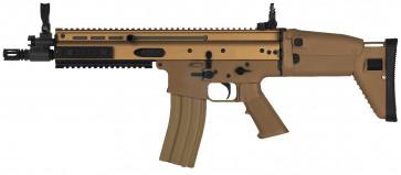Softgun FN Herstal Scar-L, inkl. batteri og lader, Dark Earth