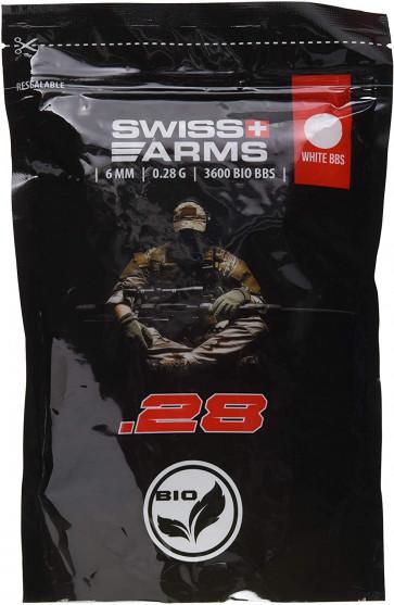 0,28g Swiss Arms bio kugler (3600 stk)