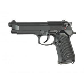 Softgun gas pistol Berretta M9, blowback.
