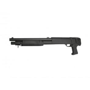 Softgun pumpgun Franchi SAS 12, 3 skuds, kort udgave.