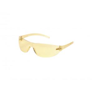 Sikkerhedsbrille, gul.