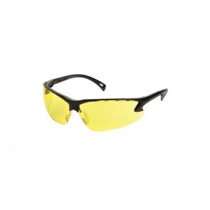 Sikkerhedsbriller, gul.