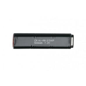 7,2V 500mAh batteri til CYMA el-pistoler