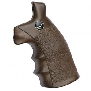 Dan Wesson revolver greb med træ look.