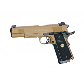 Softgun CO2/gas pistol STI TAC MASTER, Desert, blowback.