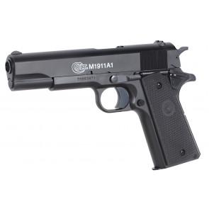Softgun pistol Colt 1911 A1 med metalslæde.