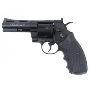 "Softgun Metal revolver COLT PYTHON 4"".357 Magnum, CO2."