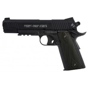 Airsoft CO2 pistol Colt 1911 Rail Gun, non blowback