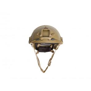 Strike Systems Fast hjelm med rail og velcro – Tan.