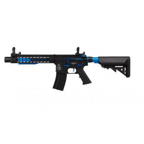 Colt M4 BLAST BLUE Fox AEG Fuld metal – Mosfet