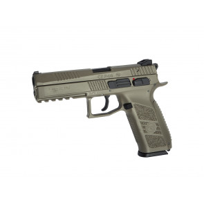 Softgun CZ P-09 Tan gas blowback.