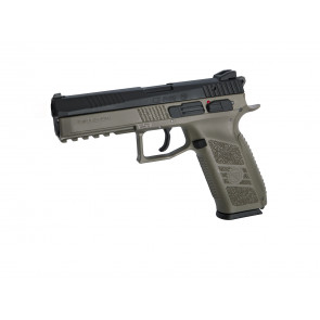 Softgun CZ P-09 Duty incl. pistolkuffert, Dualtone.