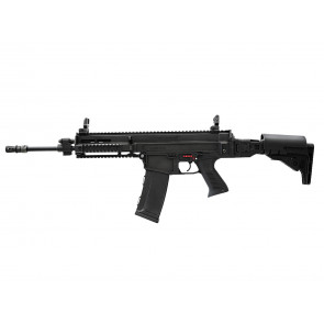 Softgun CZ 805 Bren A1 Assault Rifle lang model, sort.
