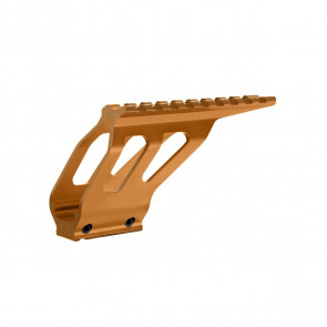 CNC  Alu. rail system til CZ SP-01 Shadow – Orange