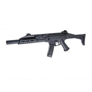 Softgun CZ Scorpion EVO 3 A1 B.E.T. Carbine med front og bagsigte.