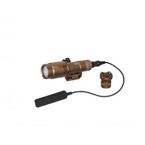 Tactical lygte WL300 fra Strike Systems, 300 lumens, TAN.