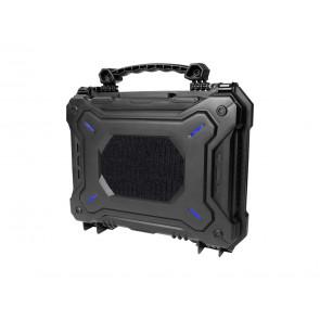 ASG Tactical vandtæt pistol kuffert med skum