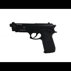 Softgun PT92 fra Cybergun, sort med fast slæde