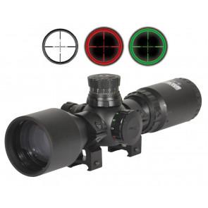 Hardball/Luftgevær 3-9 x 42 Kompakt kikkert med rød/grøn lys