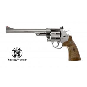 "Softgun/Airsoft S&W Model 29, 8 3/8"" CO2 Revolver, Chrome-Finish"