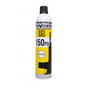 Swiss arms Heavy gas, Gul, med silikone – 150 PSI