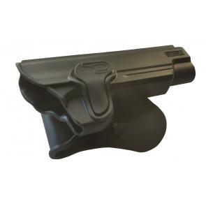 Formstøbt Polymer hylster med quick release til 1911 modeller.