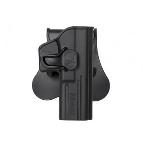 Formstøbt Polymer hylster med quick release til Glock 17/22/31