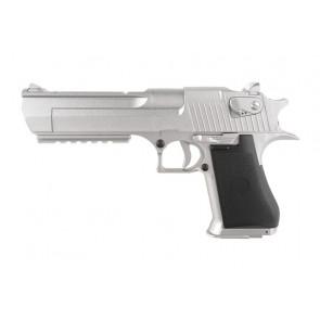 Softgun Cyma CM.121, Elektrisk pistol, Silver