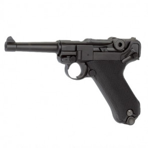 Softgun/Airsoft KWC CO2 Pistol P08, fuld metal, Blow-Back
