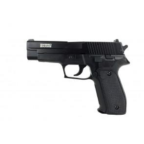 Softgun/Airsoft manuel pistol Swiss Arms Navy med Metal slæde